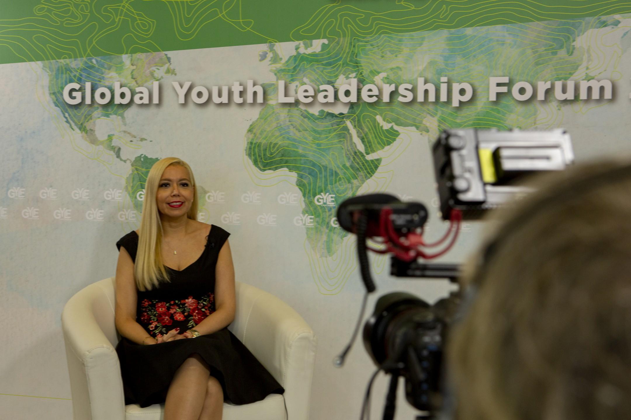 Giorgiana Martinezgarnelo, Directora General del Global Youth Leadership Forum