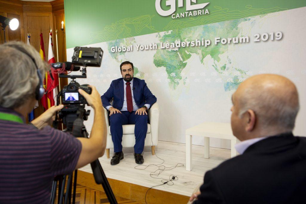 Cruz Guijarro, vice Presidente de Global Youth Leadership Forum